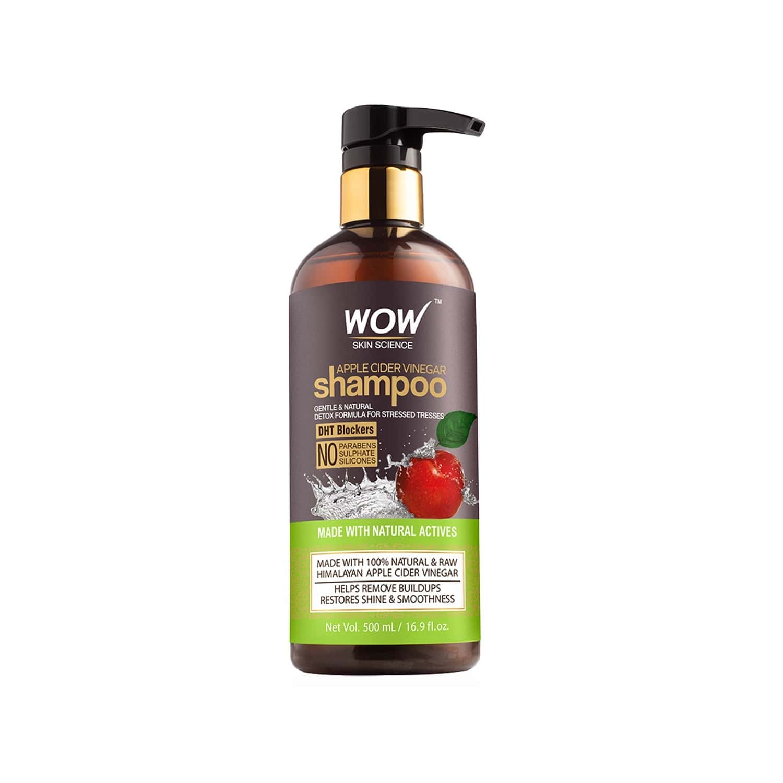 Wow Skin Science Apple Cider Vinegar Shampoo (500 Ml)