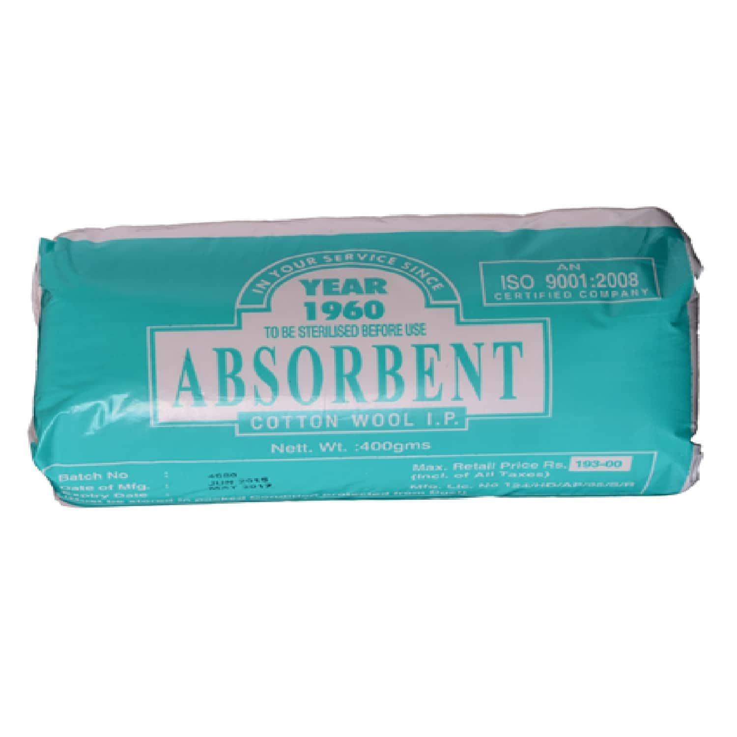 Absorbent Cotton Jaycot 500 Gm