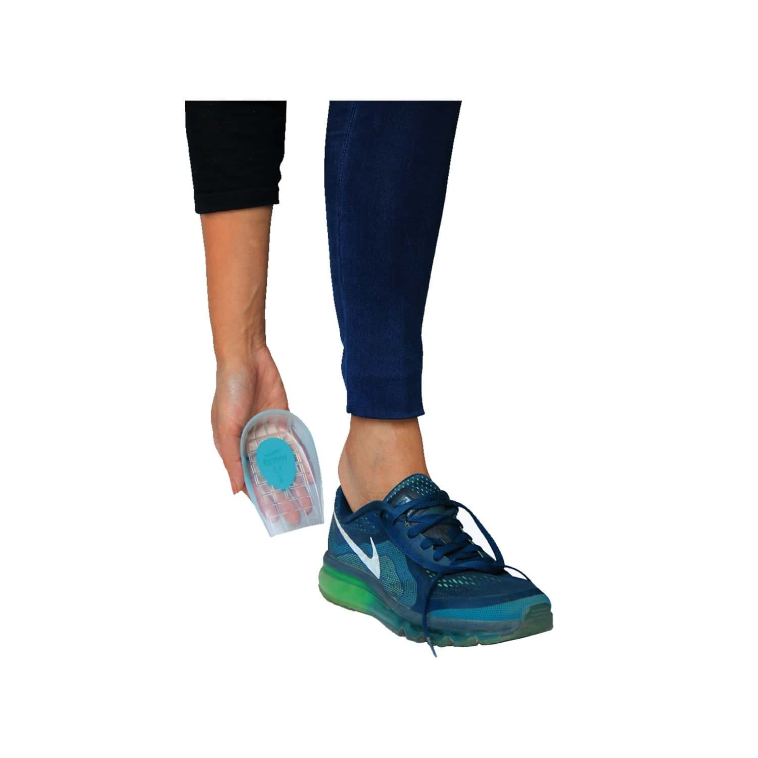 Tynor Heel Cushion Silicone ( Comfortable,odorless,pain Relief) - Small