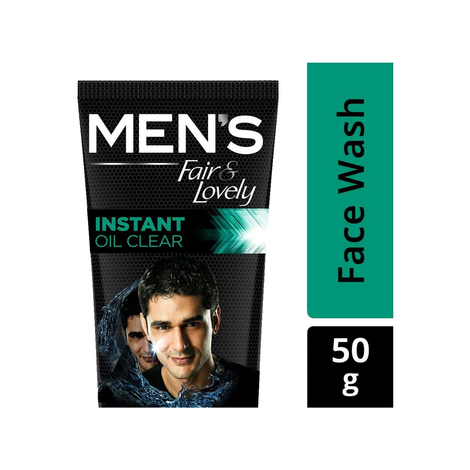Mens Fair And Lovely Instant Oil Clear Magnet Action Face Wash-50 G
