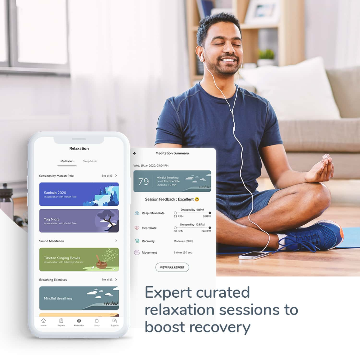 Dozee - India's 1st Contactless Health Companion For Stress Management, Better Sleep, Heart & Respiratory Health Monitoring.
