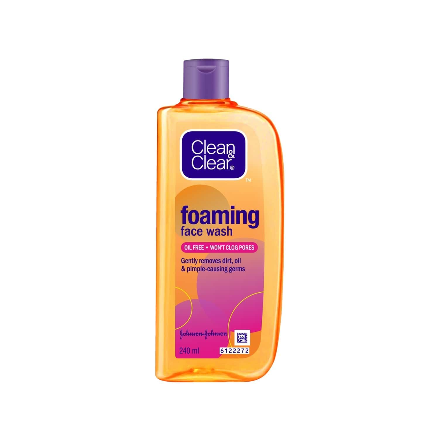 Clean & Clear Foaming Face Wash - 240ml