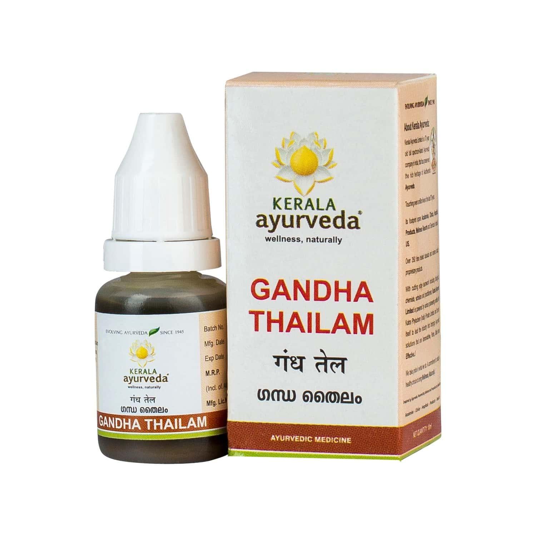 Kerala Ayurveda Gandha Thailam - 10 Ml - Pack Of 3
