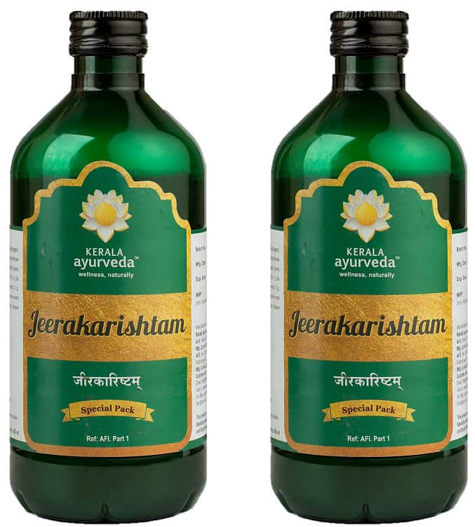 Kerala Ayurveda Jeerakarishtam - 435 Ml - Pack Of 2
