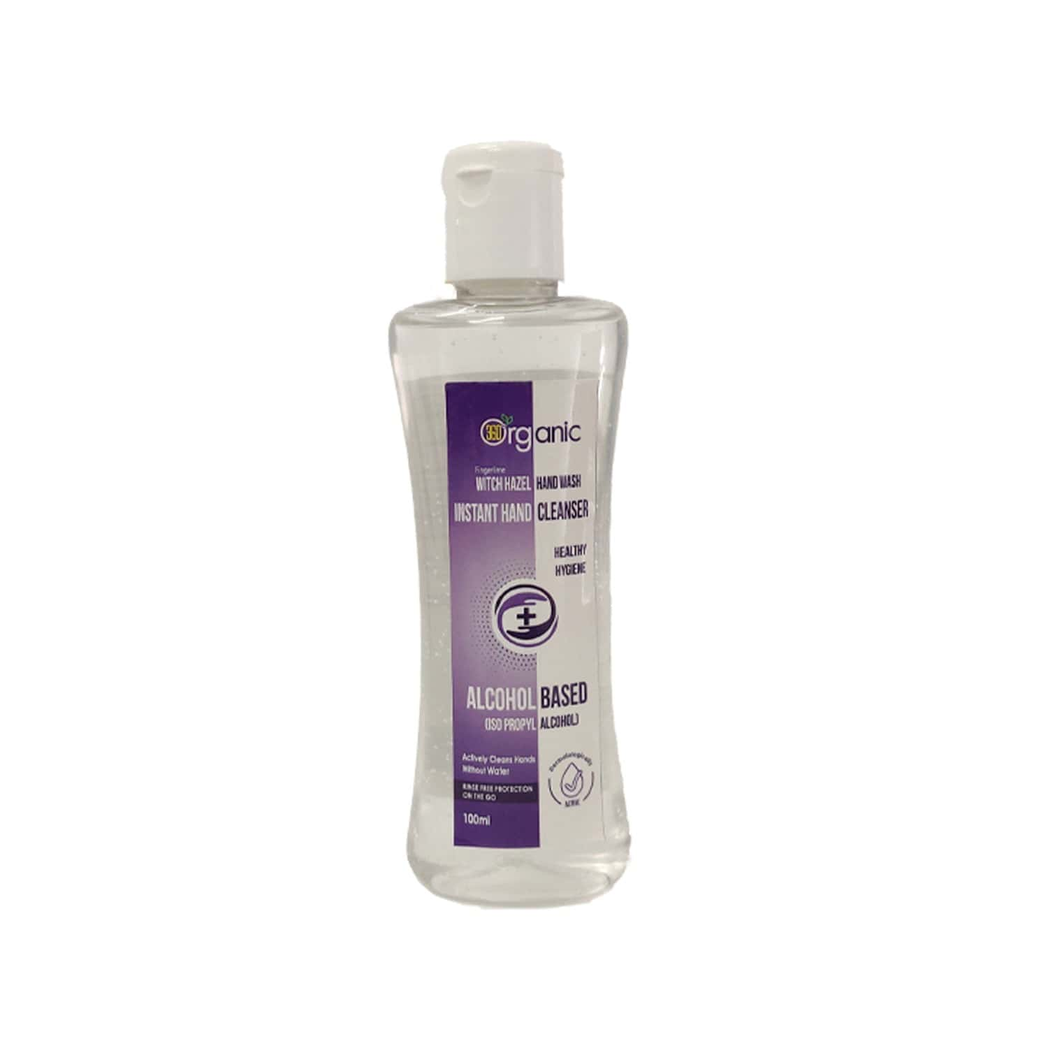 Instant Hand Cleanser ( Alcohol Based And Organic)- 100ml