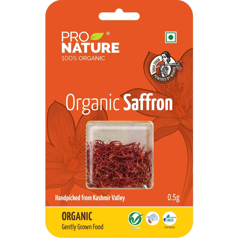 Pro Nature Organic Saffron 0.5g Pouch