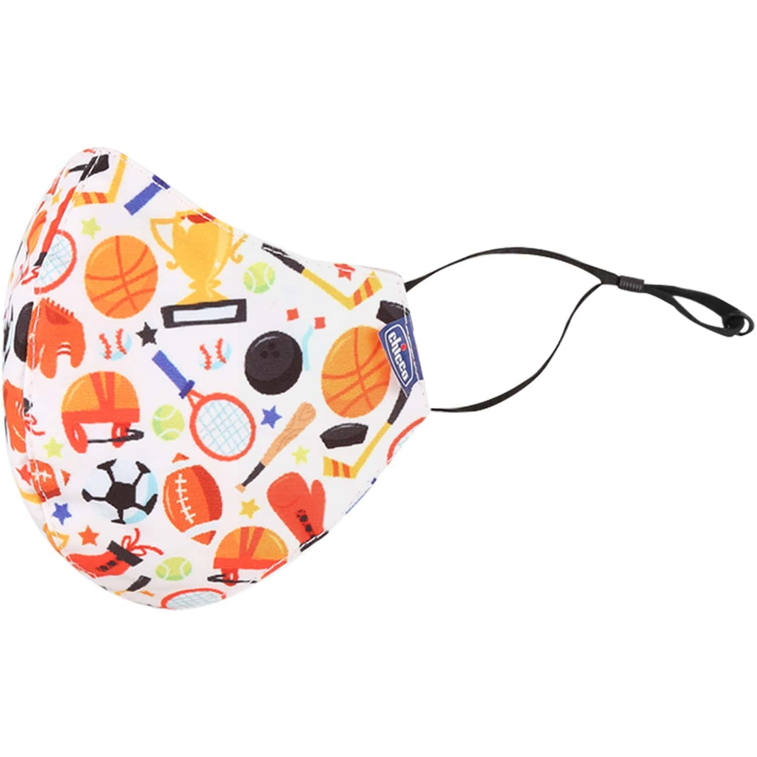 Chicco Kids Face Mask 3-6y Sport Jungle - 2pc