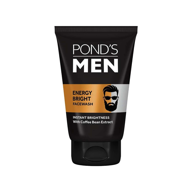 Pond's Men Energy Bright Anti-dullness Facewash With Coffee Bean-100 G