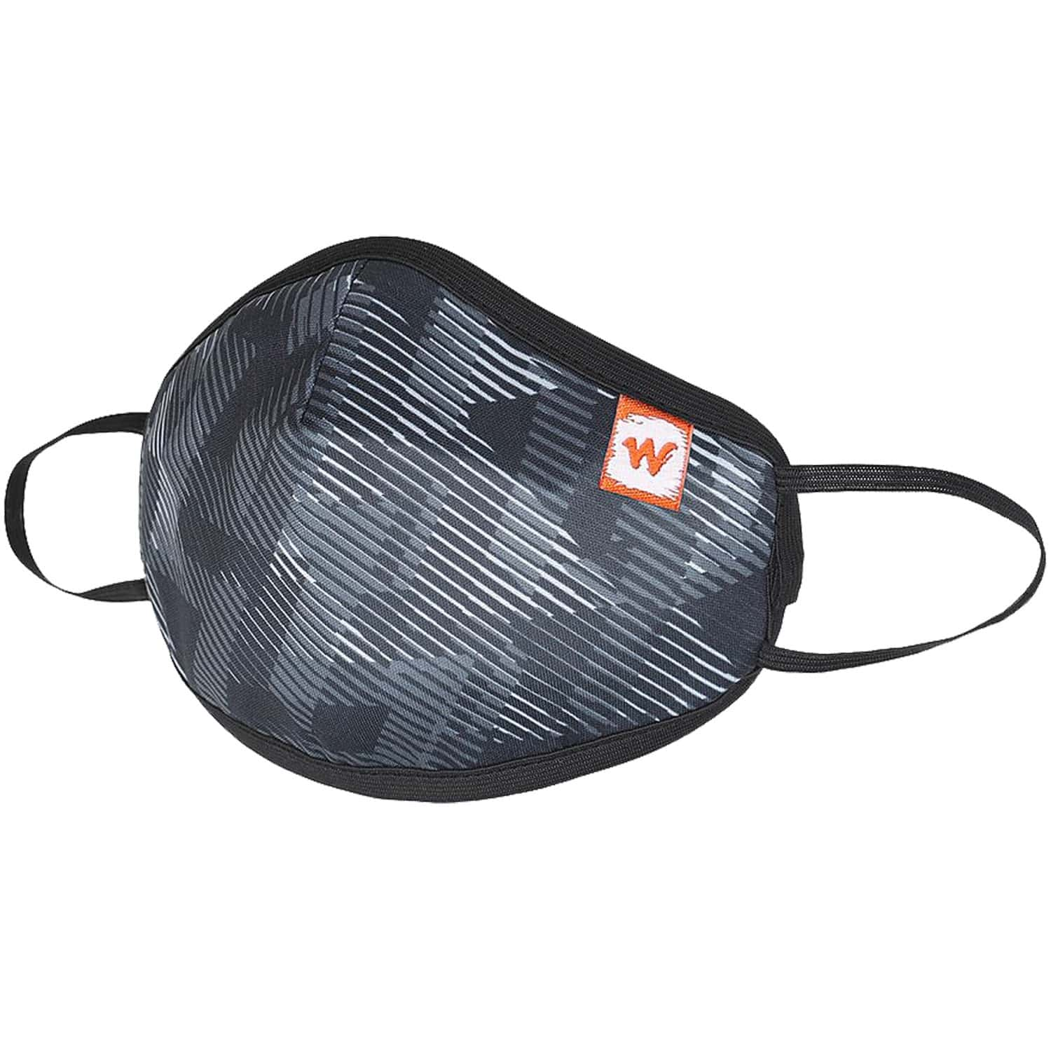 Wildcraft Supermask W95+ Reusable Outdoor Respirator Face Mask Anti-dust  Anti-bacterial   Anti-pollution- Size M