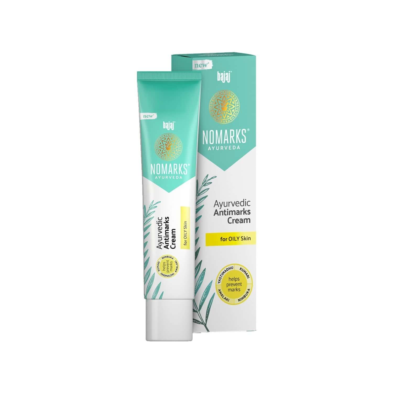 Bajaj Nomarks Ayurvedic Anti Marks For Oily Skin Cream 25 Gm