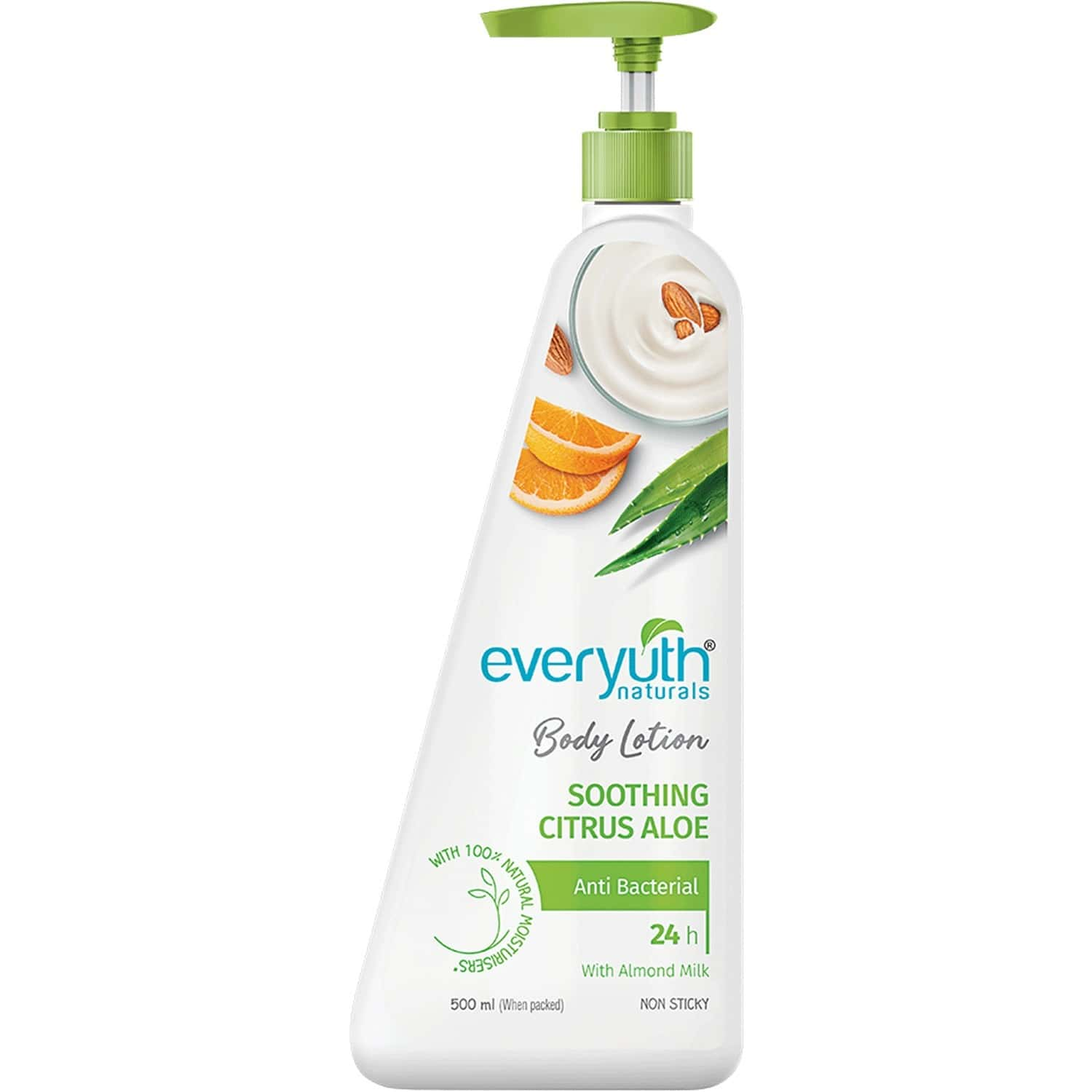 Everyuth Naturals Body Lotion Soothing Citrus Aloe 500ml