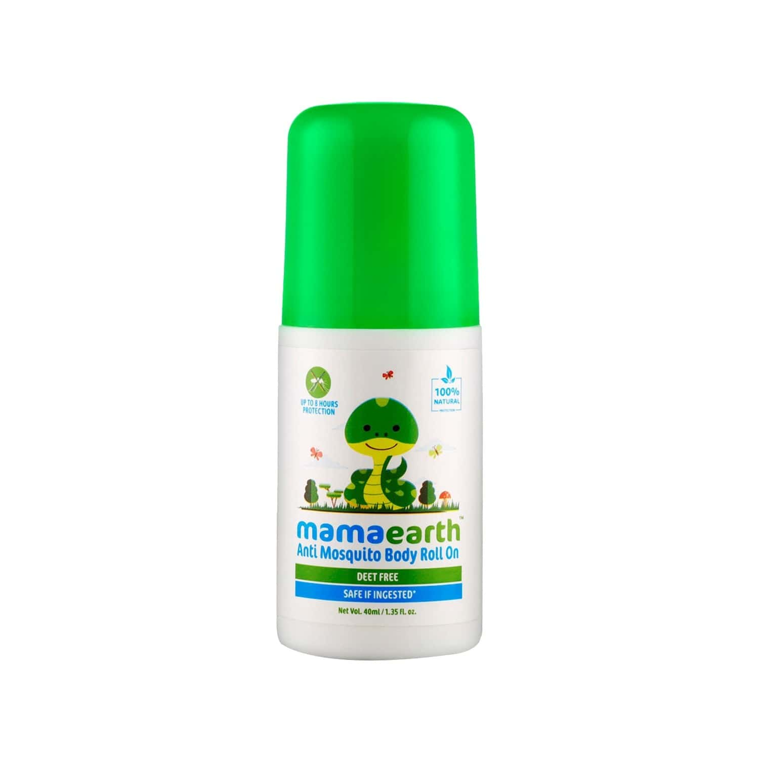 Mamaearth Natural Anti Mosquito Roll-on Tube Of 40 Ml