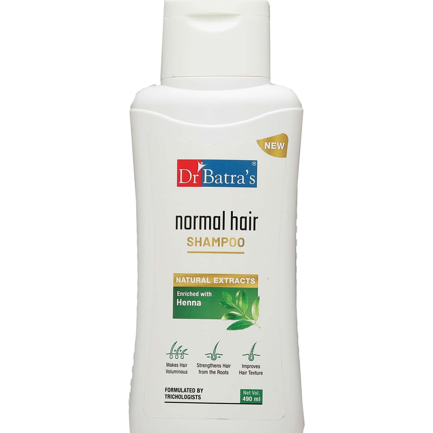Dr Batra's Shampoo Enriched With Henna - 490 Ml