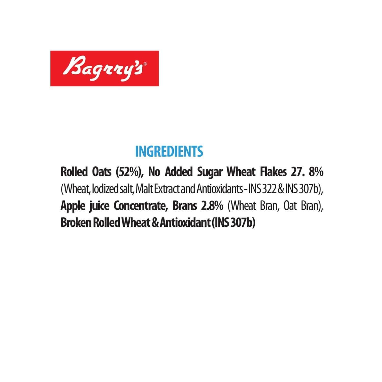 Bagrry's No Added Sugar Crunchy Muesli - 500g