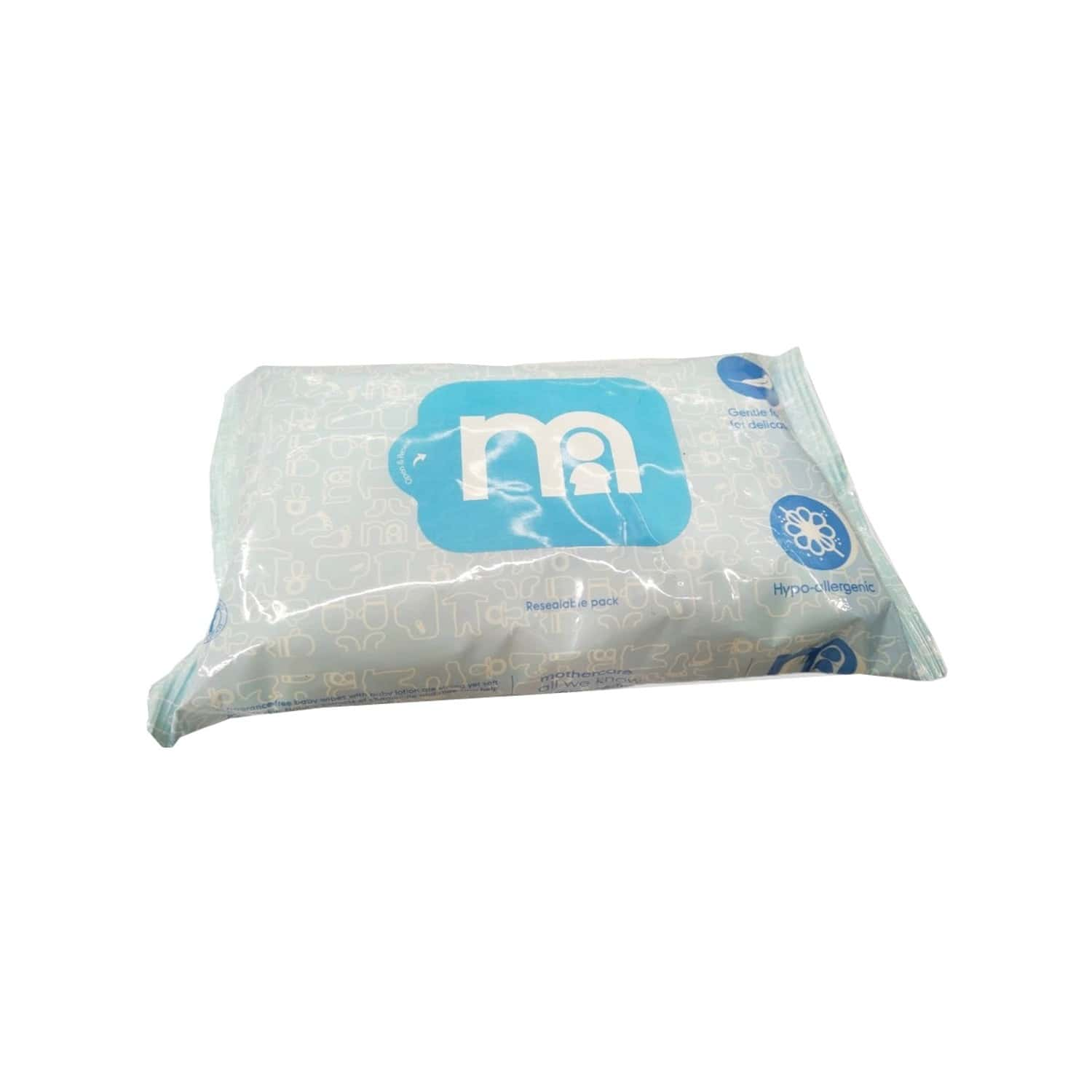 Mothercare Non Fragnanced Baby Wipes - 60 Wipes