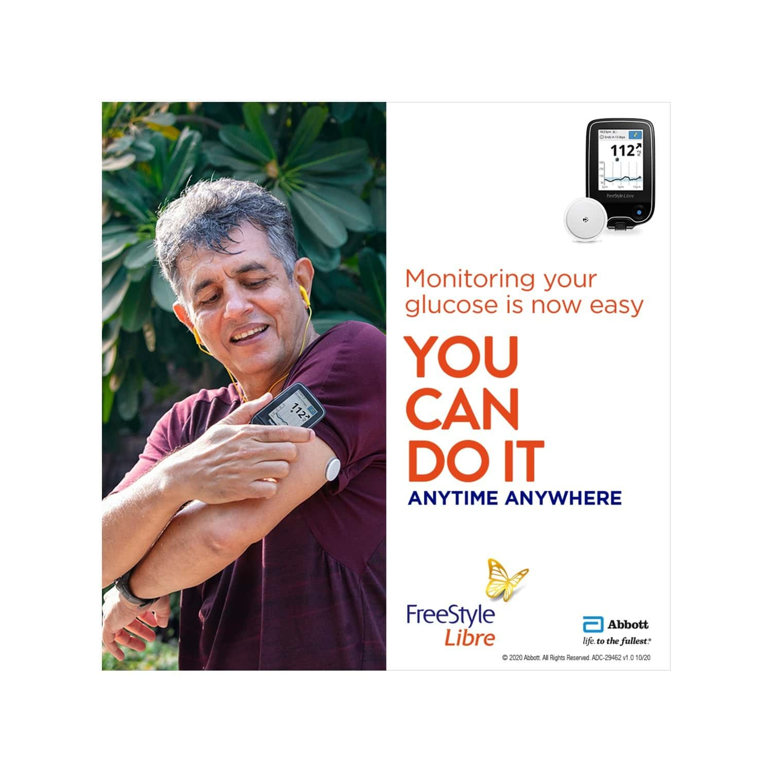 Freestyle Libre Flash Glucose Monitoring System (4 Sensor And 1 Reader Combo)