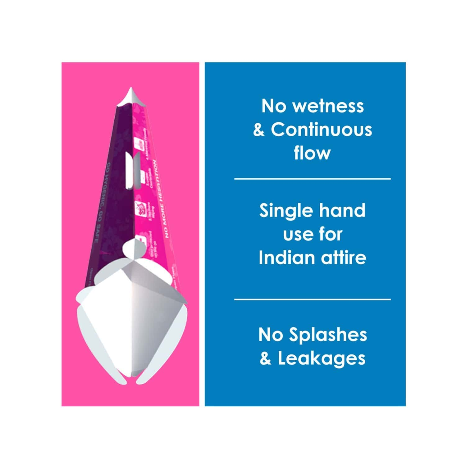 Sanfe Stand And Pee Disposable Female Urination Funnel Packet Of 30