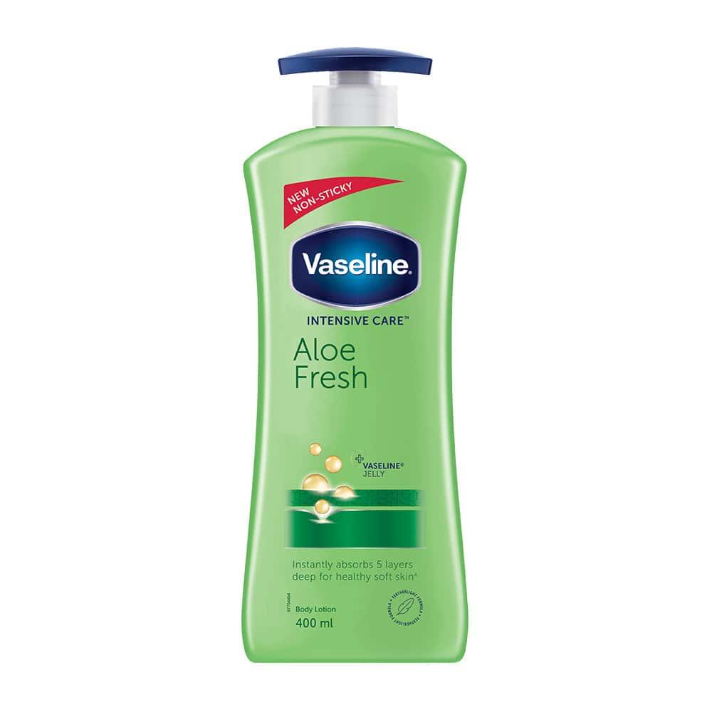 Vaseline Intensive Care Aloe Fresh Body Lotion Bottle Of 400 Ml