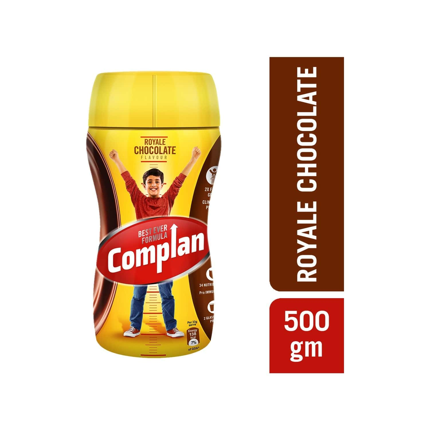 Complan Royale Chocolate Nutrition Drink Jar Of 500 G