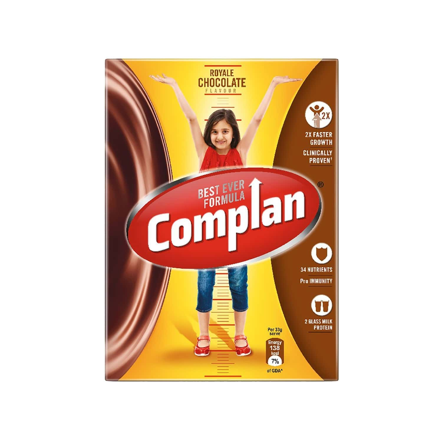 Complan Chocolate Nutrition Drink Box Of 200 G