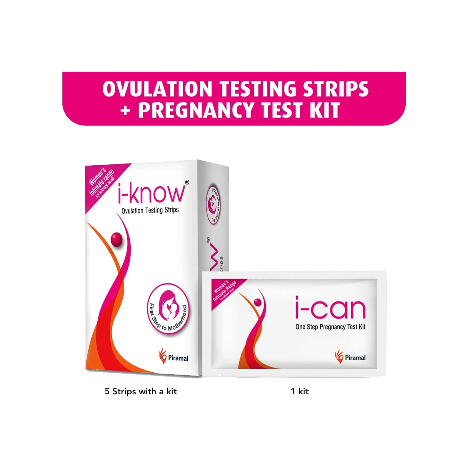 I-know Ovulation Detection Kit (with Free I-can Pregnancy Test Kit)