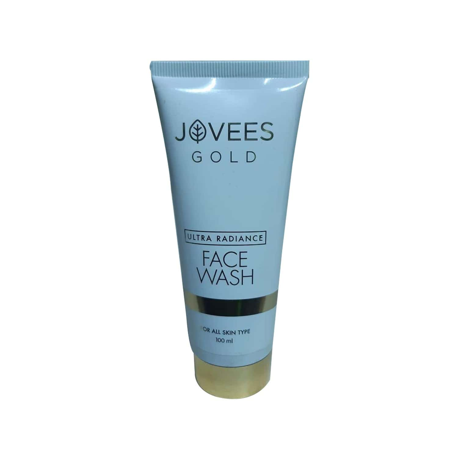 Jovees Ultra Radiance Gold Face Wash - 100 Ml