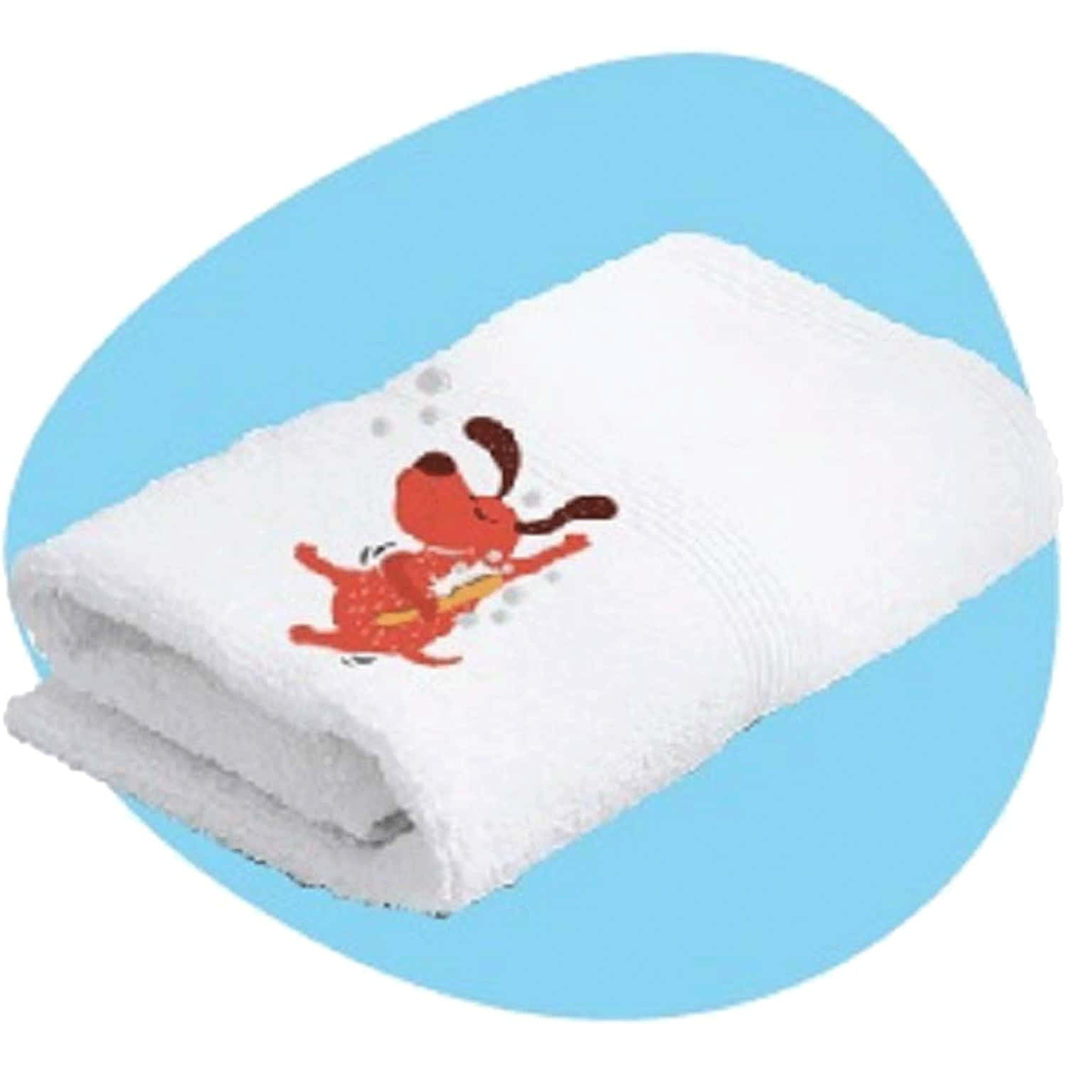 Captain Zack Cotton Signature Bath Towel For Dogs, Cats And Humans,250 G