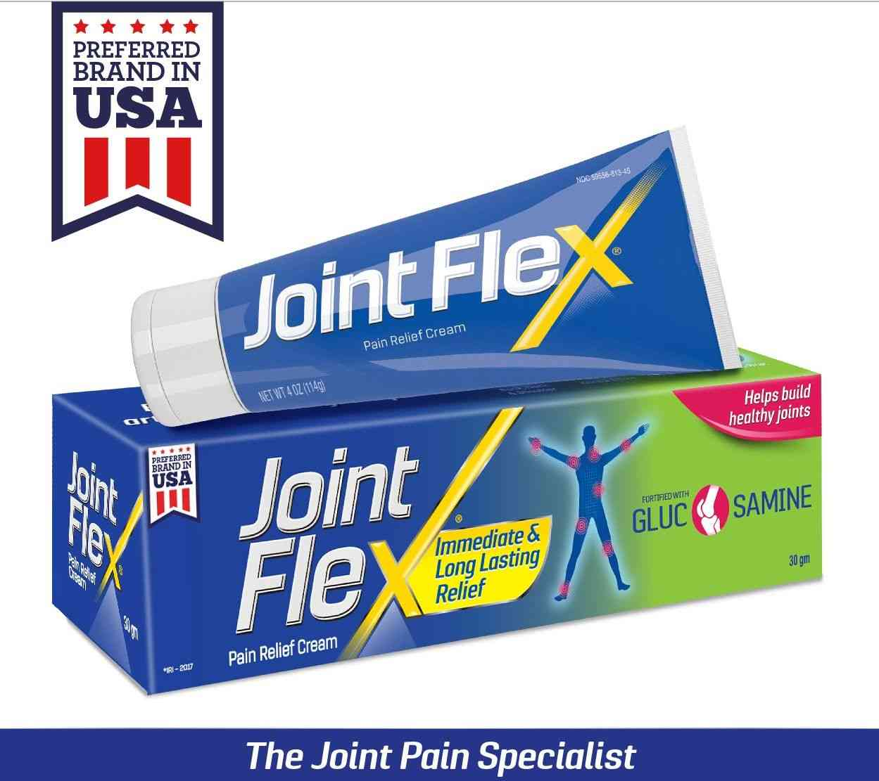 Jointflex Joint Pain Ointment Tube Of 30 G (pack Of 3)