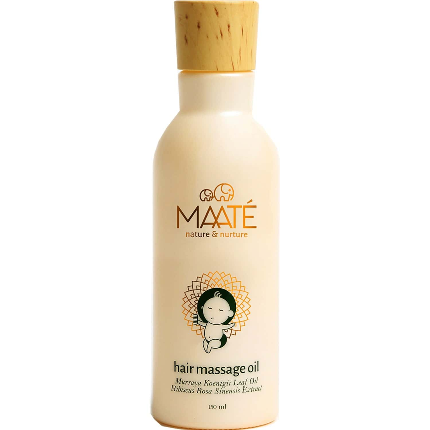 Maate Baby Hair Massage Oil Baby Hair Growth And Scalp Conditioning -150ml