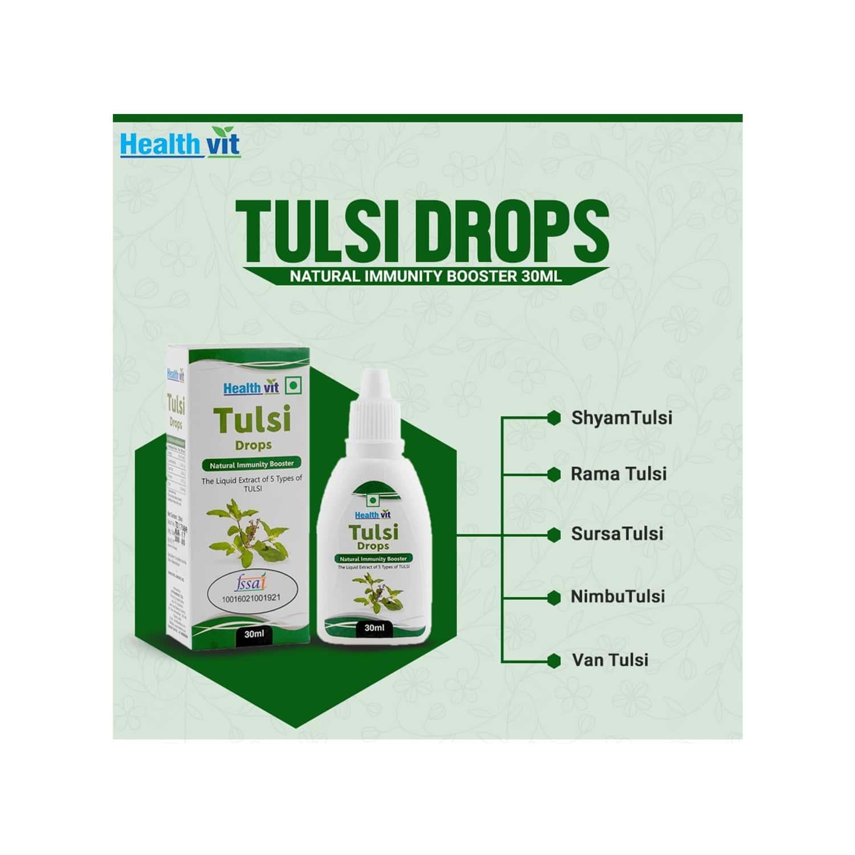 Healthvit Tulsi Nutrition Drink Bottle Of 30 Ml