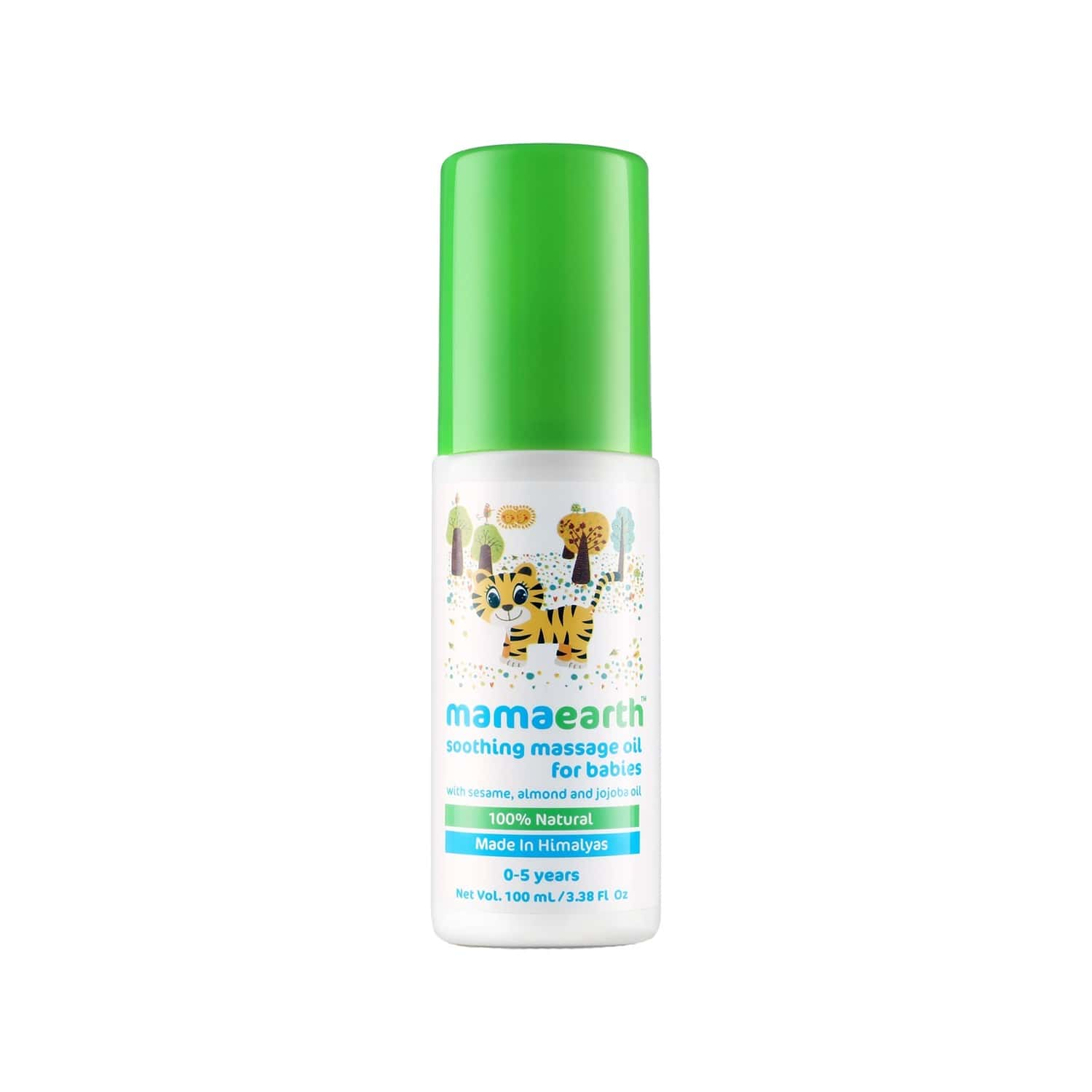 Mamaearth Soothing Massage Oil For 0-5 Yrs Babies 100ml