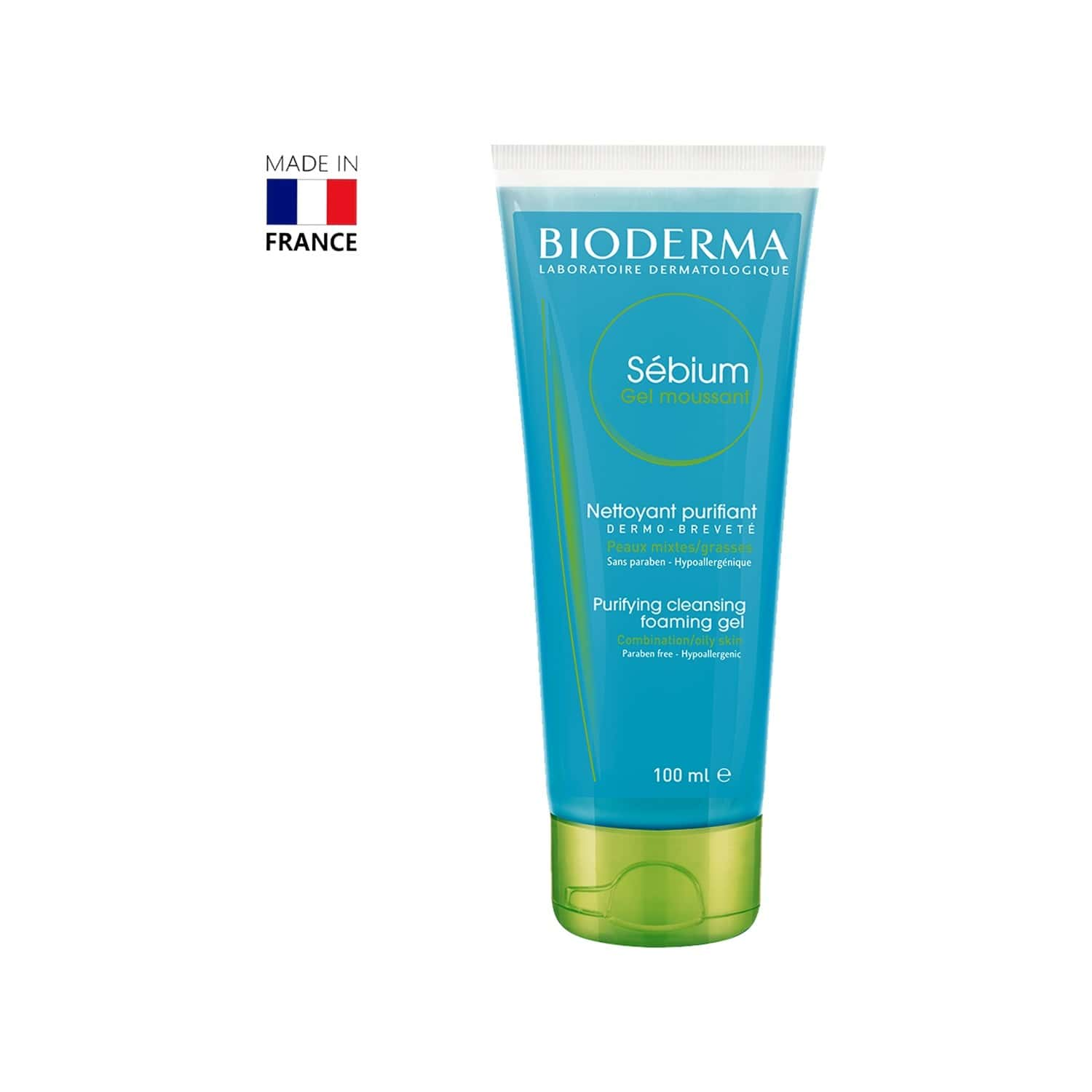 Bioderma Sebium Gel Moussant - 100ml