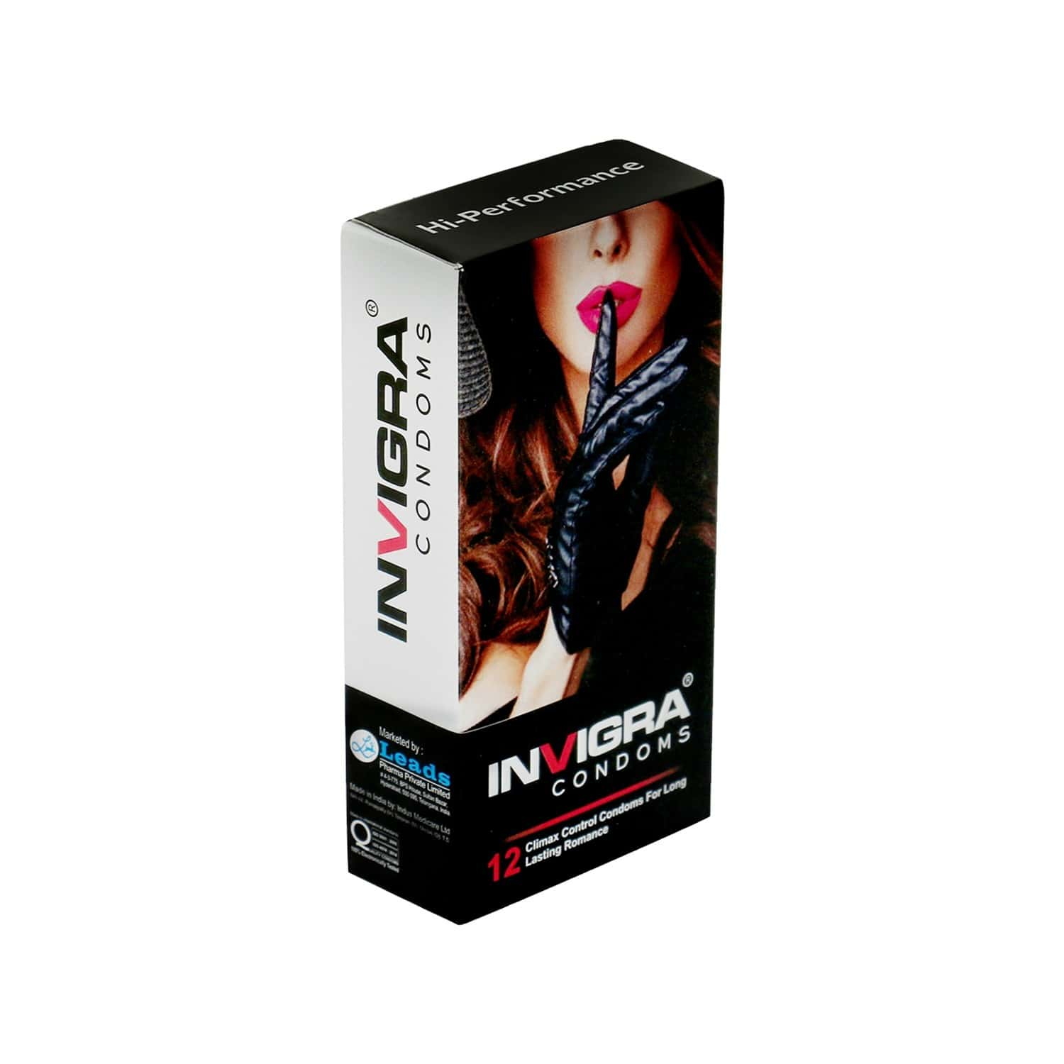 Invigra Hi Performance Condoms - 12 Condoms