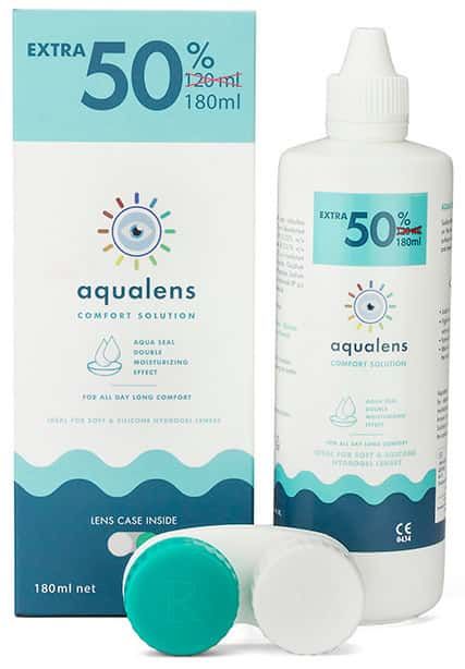 Aqualens Comfort Lens Solution Bottle Of 180 Ml
