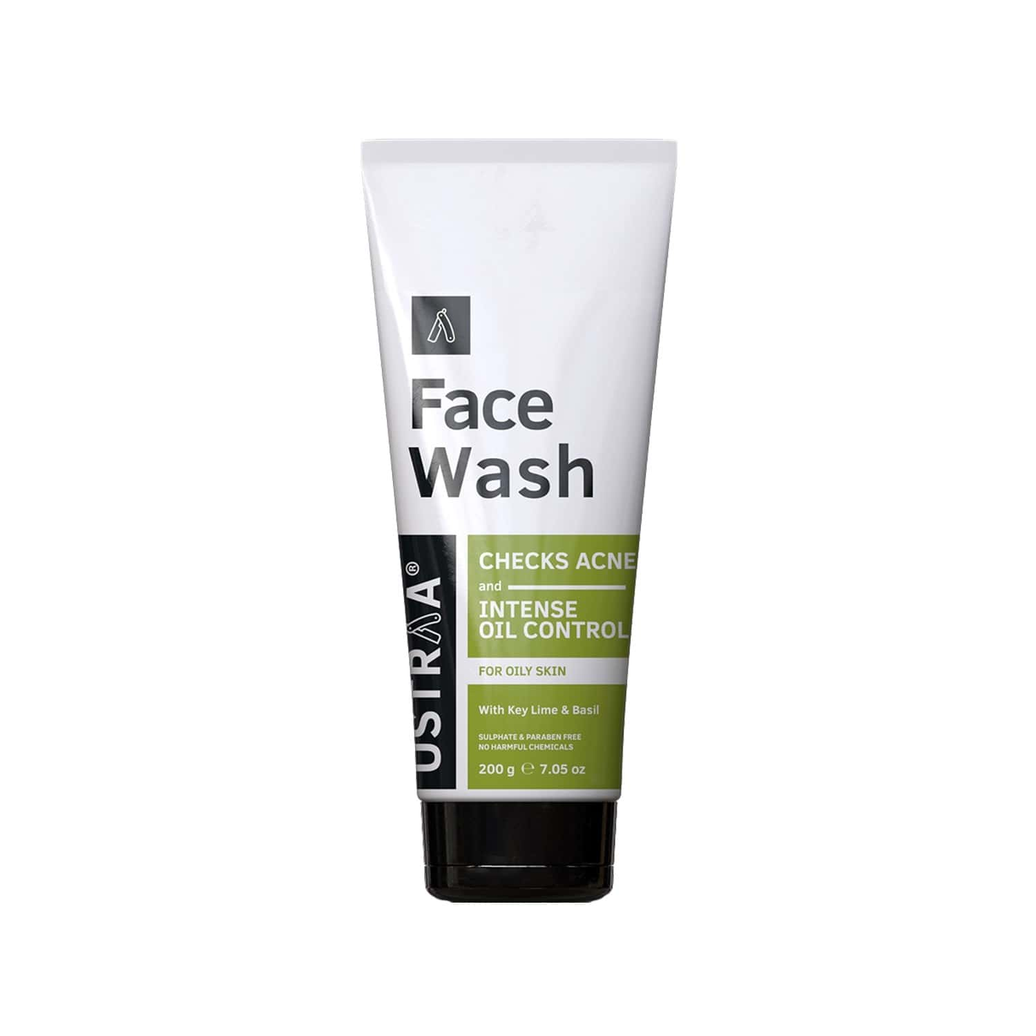 Ustraa Face Wash - For Oily Skin - 200 Gm