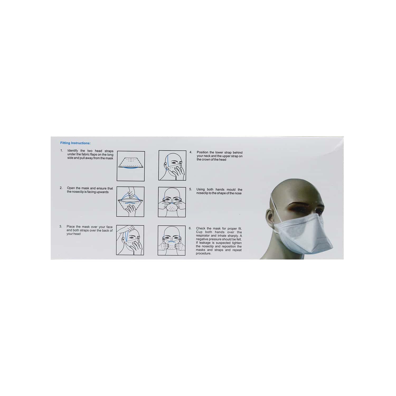 Duckbill Shape N95 Mask Packet Of 20