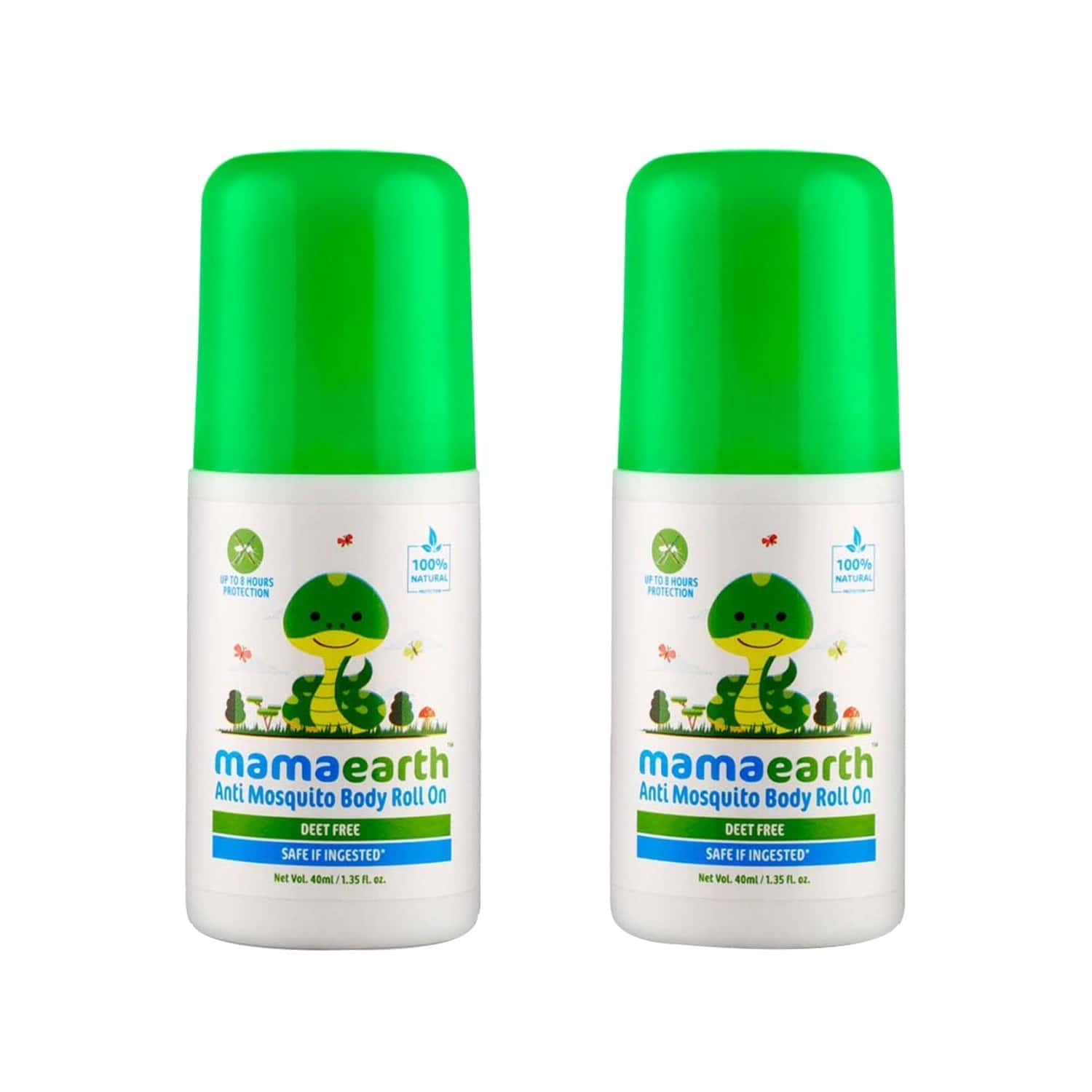 Mamaearth Anti Mosquito Roll-on (pack Of 2) Box Of 40 Ml