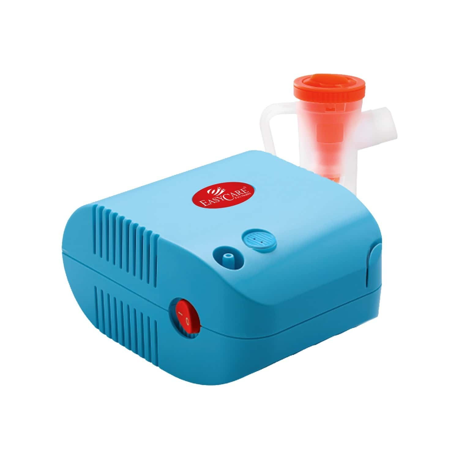 Easycare Compressor Nebulizer Perfect For All Ages Along With Air Flow Controller (certified By Ce, Iso) Handle To Carry Easy