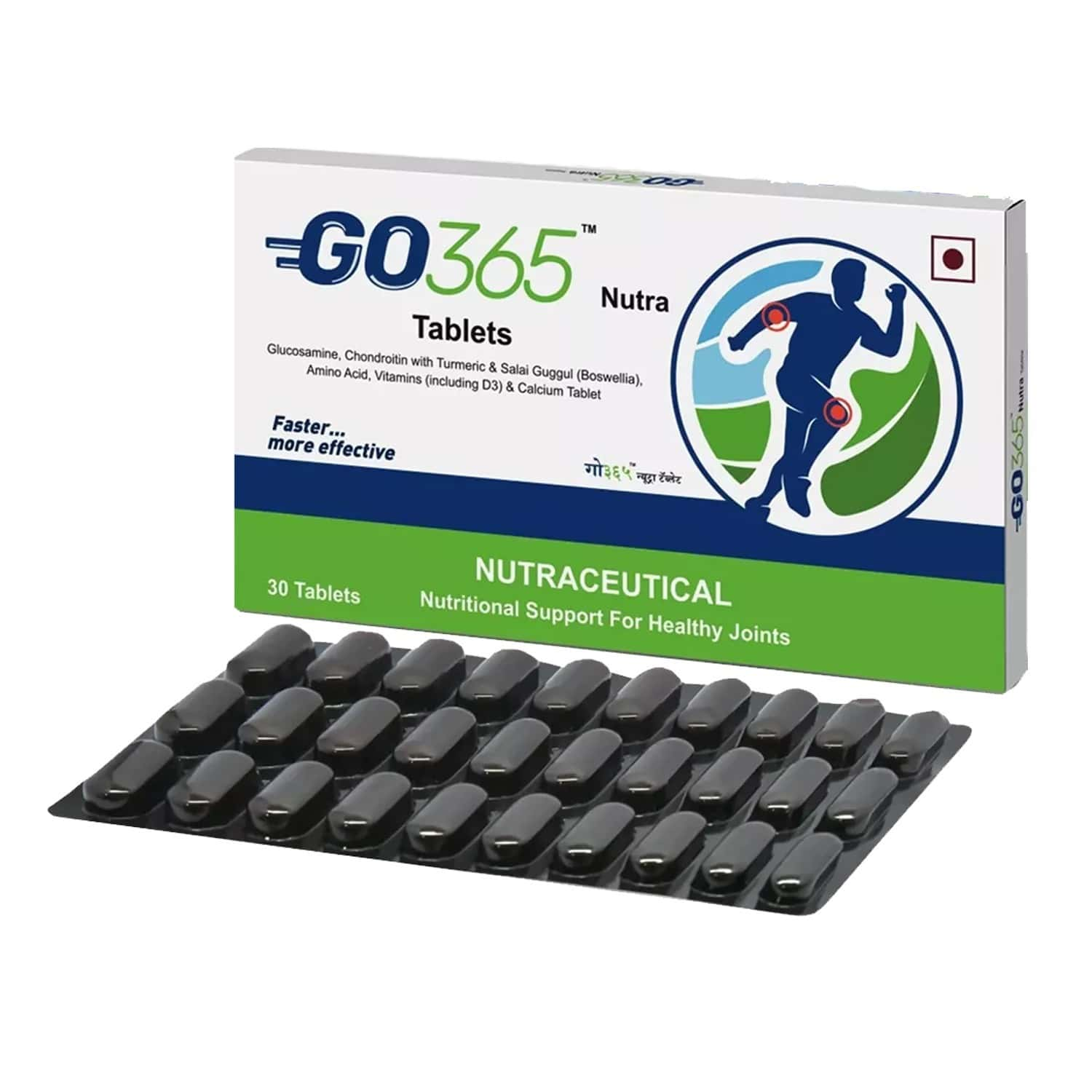 Go365 Nutra Tablets Therapy Pack Of 3(buy 2 Get 1 Free)