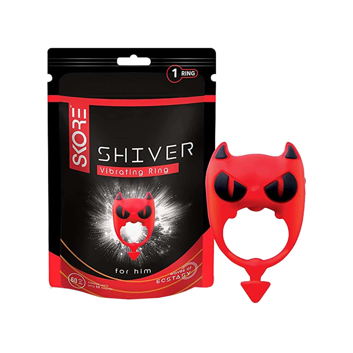 Skore Shiver Sex Toy Vibrating Ring For Him