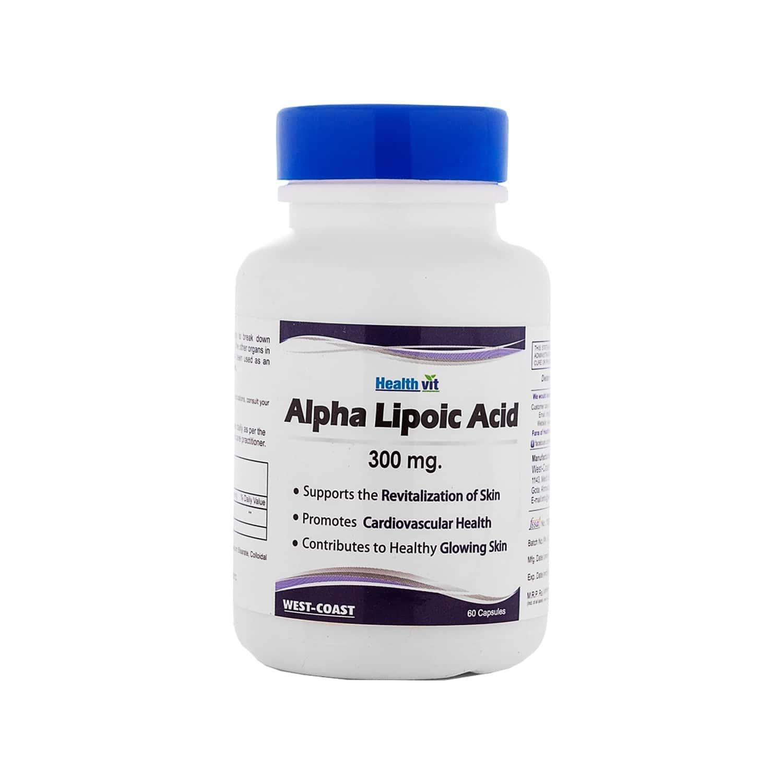 Healthvit Alpha Lipoic Acid 300mg - 60 Capsules