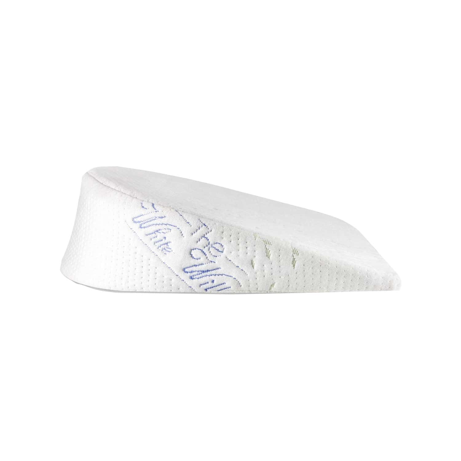The White Willow Memory Foam Wedge Pregnancy Pillow For Maternity, Belly, Back, Knee, Between Legs Support- C Shaped -multi