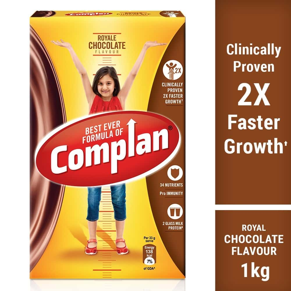 Complan Royale Chocolate Nutrition Drink Box Of 1 Kg