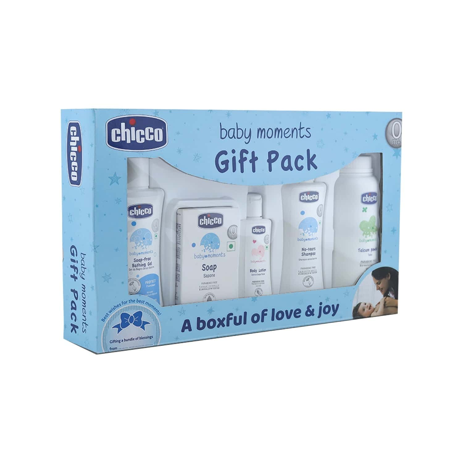 Chicco Baby First Cuddle Gift Set Blue