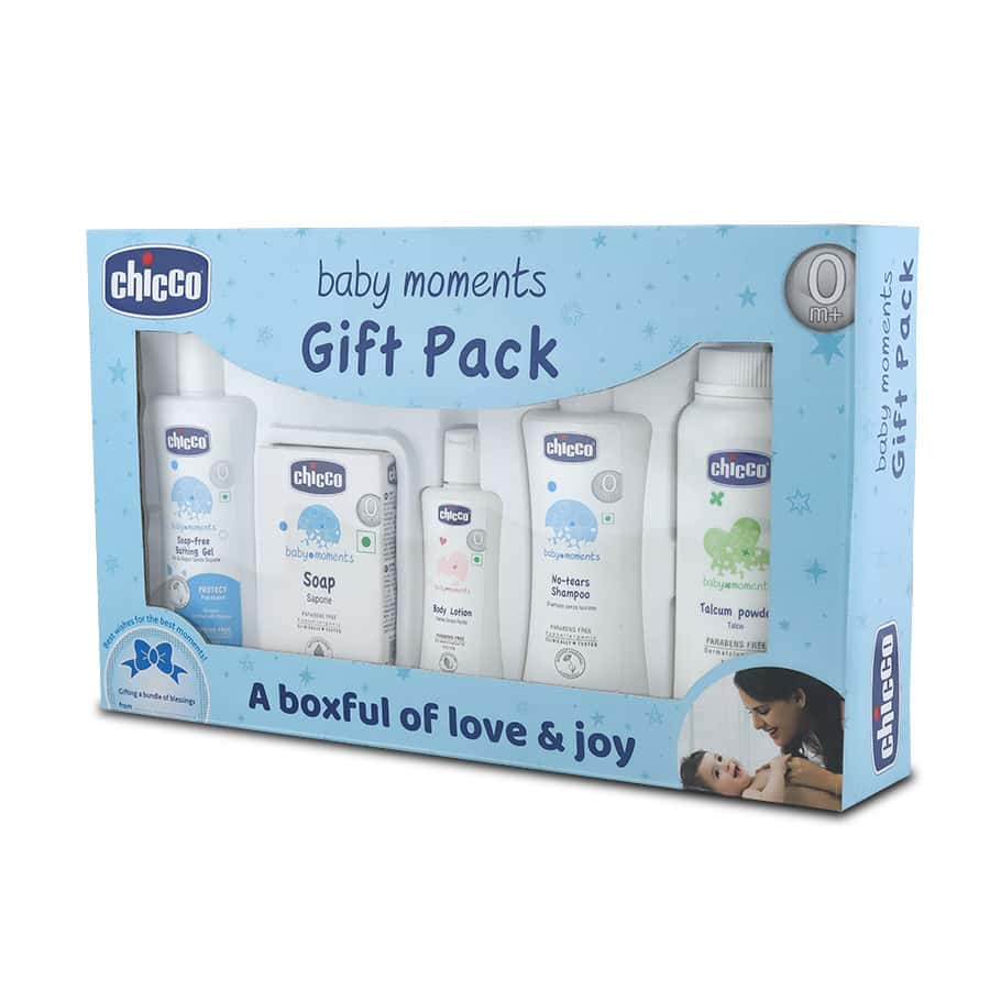 Chicco  First Cuddle Gift Set Blue