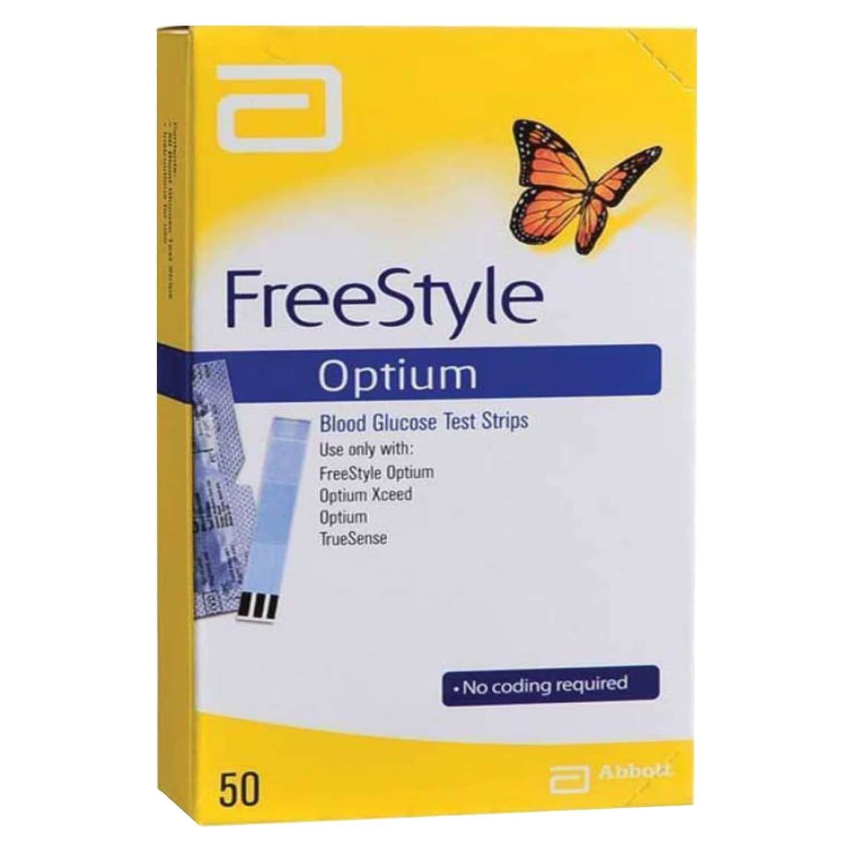 Freestyle Optium Neo Blood Glucose Strip 50's