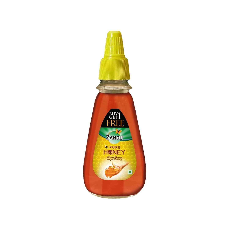 Zandu Pure Honey Squ-easy (buy 1 Get 1 Free) - 800 Gm
