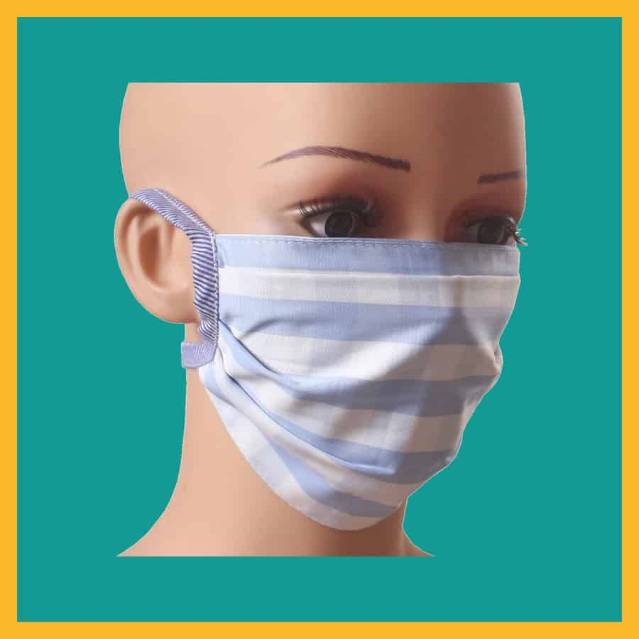 Hand Made Reusable Cotton Mask (pack Of 5)