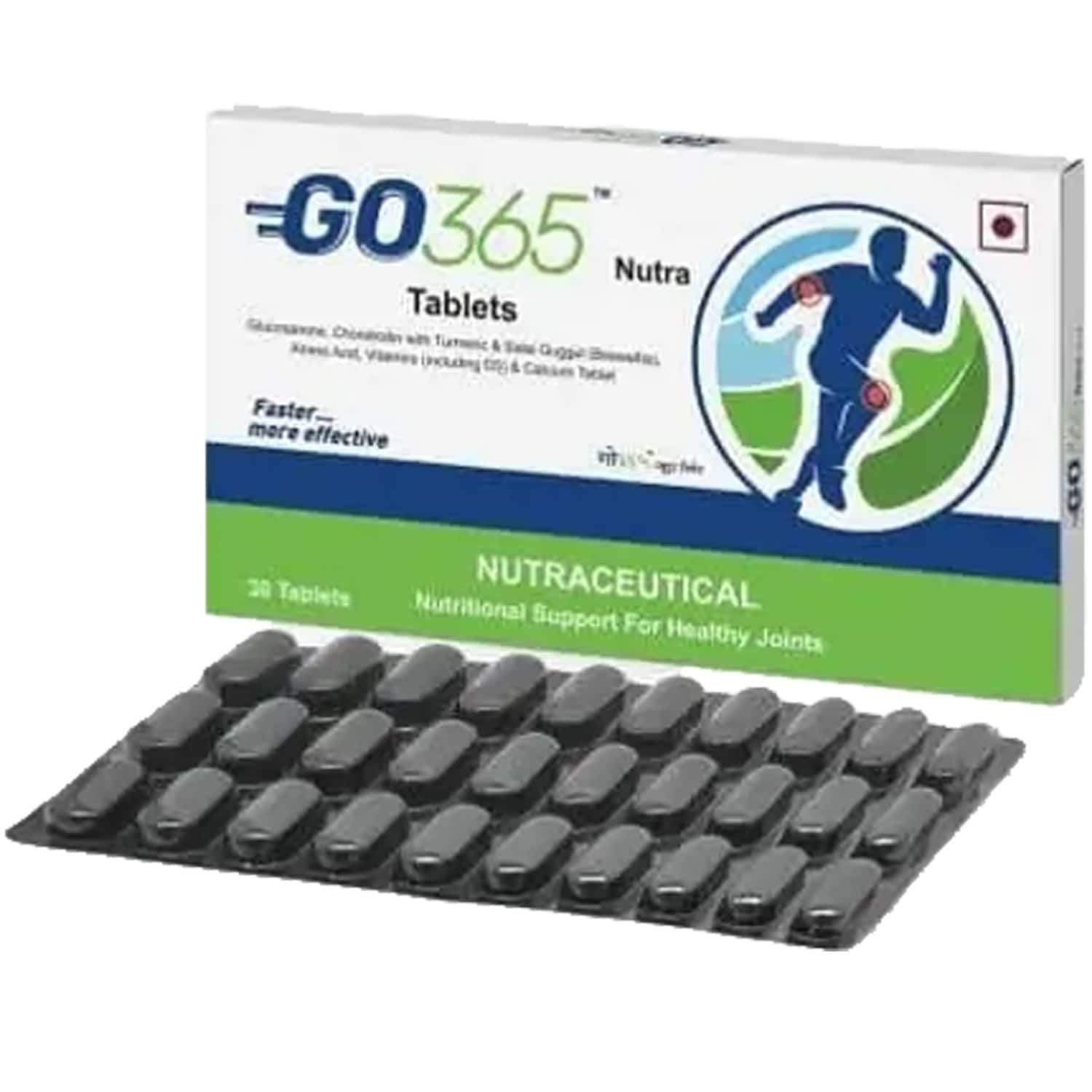 Go365 Nutra Nutraceutical Tablets Box Of 30