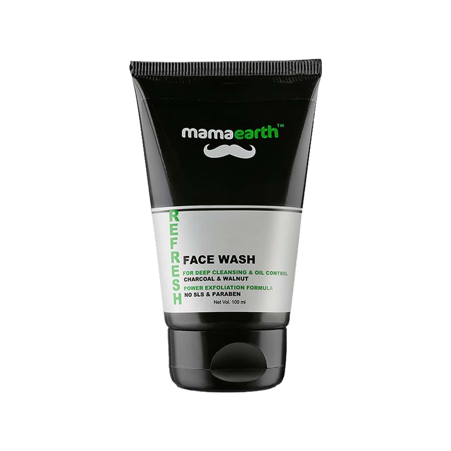 Mamaearth Men's Refresh Oil Control Facewash 100ml With Charcoal & Aftershave Lotion 100ml Combo